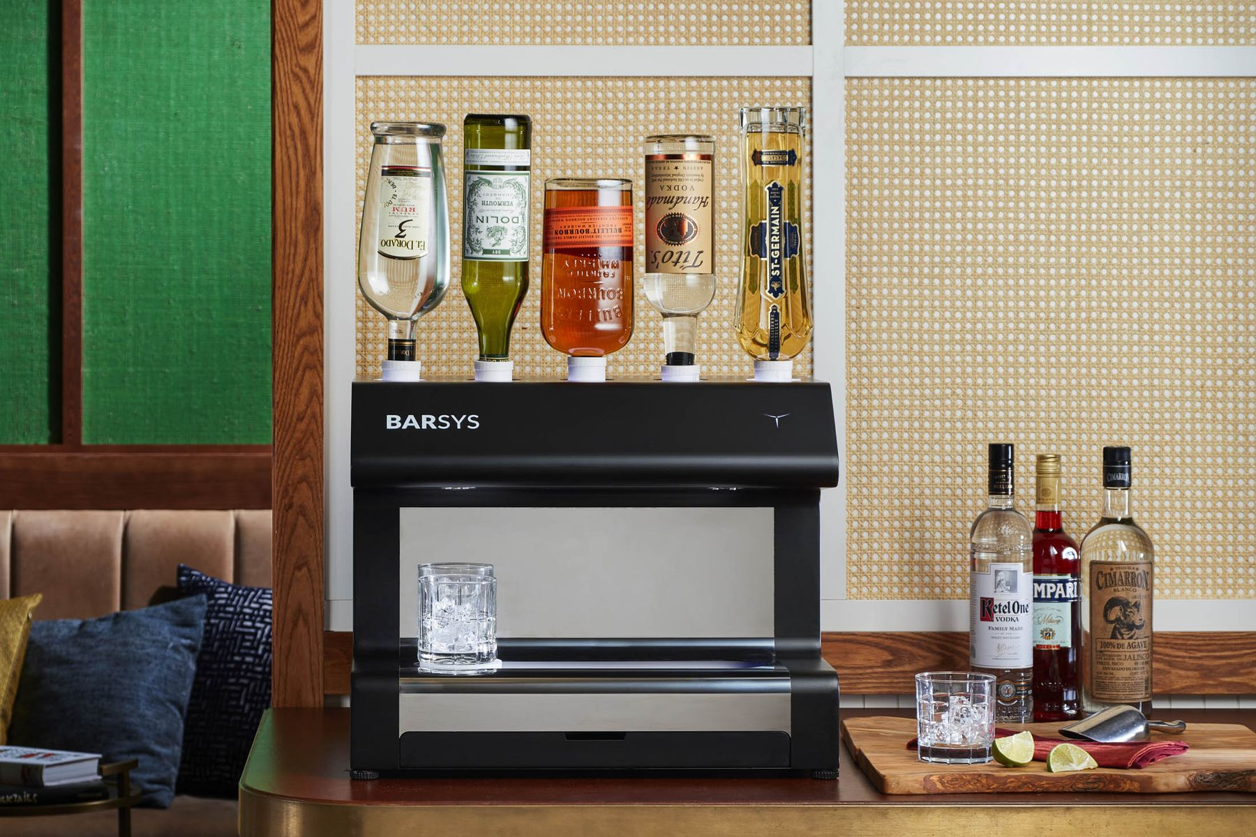 Who Doesn't Want A Robot Bartender That Sits On Your Countertop?